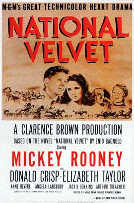 National Velvet - 11 x 17 Movie Poster - Style B