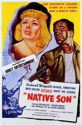 Native Son - 11 x 17 Movie Poster - Style A