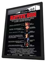 Native Son - 11 x 17 Movie Poster - Style A - in Deluxe Wood Frame