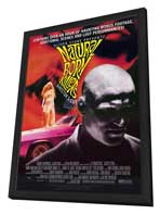 Natural Born Killers - 11 x 17 Movie Poster - Style C - in Deluxe Wood Frame