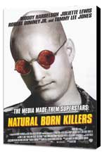 Natural Born Killers - 11 x 17 Movie Poster - Style B - Museum Wrapped Canvas