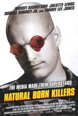 Natural Born Killers - 27 x 40 Movie Poster - Style B