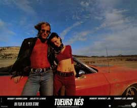 Natural Born Killers - 11 x 14 Poster French Style A