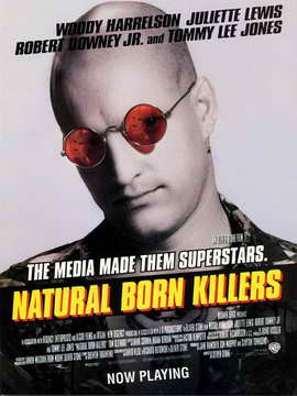 Natural Born Killers - 27 x 40 Movie Poster - Style D