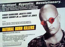 Natural Born Killers - 11 x 17 Movie Poster - UK Style A