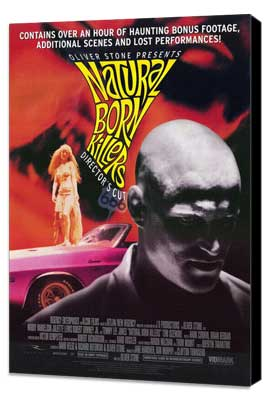 Natural Born Killers - 11 x 17 Movie Poster - Style C - Museum Wrapped Canvas