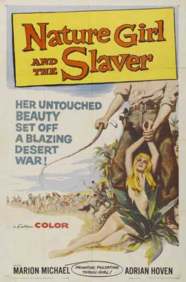 Nature Girl and the Slaver - 11 x 17 Movie Poster - Style A
