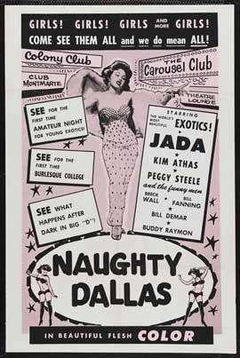 Naughty Dallas - 11 x 17 Movie Poster - Style A