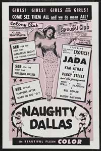 Naughty Dallas - 43 x 62 Movie Poster - Bus Shelter Style A