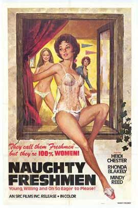 Naughty Freshmen - 11 x 17 Movie Poster - Style A