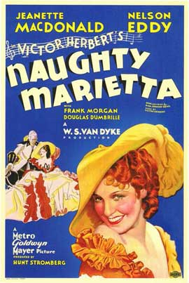 Naughty Marietta - 11 x 17 Movie Poster - Style A