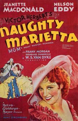 Naughty Marietta - 11 x 17 Movie Poster - Style B