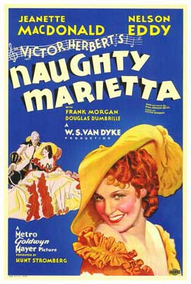 Naughty Marietta - 27 x 40 Movie Poster - Style A