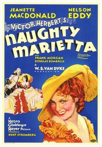 Naughty Marietta - 43 x 62 Movie Poster - Bus Shelter Style A