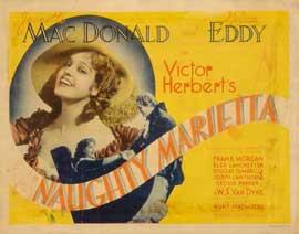 Naughty Marietta - 11 x 17 Movie Poster - Style E