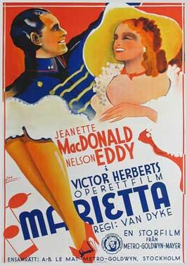 Naughty Marietta - 11 x 17 Movie Poster - Style G