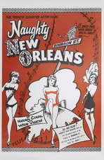 Naughty New Orleans - 11 x 17 Movie Poster - Style B