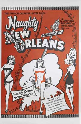 Naughty New Orleans - 27 x 40 Movie Poster - Style B