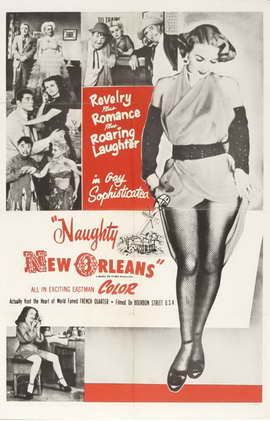 Naughty New Orleans - 11 x 17 Movie Poster - Style C