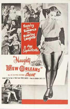 Naughty New Orleans - 27 x 40 Movie Poster - Style C