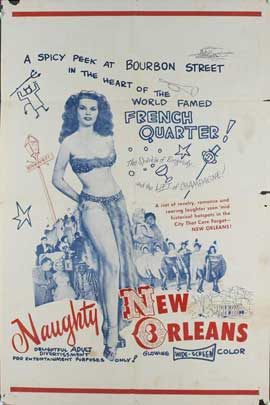 Naughty New Orleans - 11 x 17 Movie Poster - Style D