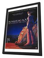 Nausica� of the Valley of the Winds - 27 x 40 Movie Poster - French Style A - in Deluxe Wood Frame