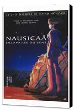 Nausica� of the Valley of the Winds - 27 x 40 Movie Poster - French Style A - Museum Wrapped Canvas