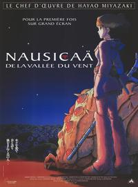 Nausica� of the Valley of the Winds - 47 x 62 Movie Poster - French Style A