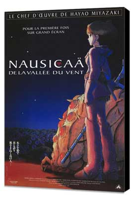 Nausica� of the Valley of the Winds - 11 x 17 Movie Poster - French Style A - Museum Wrapped Canvas
