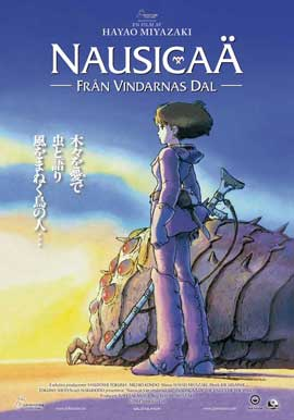 Nausicaa of the Valley of the Wind - 27 x 40 Movie Poster - German Style A