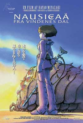 Nausicaa of the Valley of the Wind - 11 x 17 Movie Poster - Danish Style A