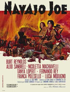 Navajo Joe - 11 x 17 Movie Poster - French Style A