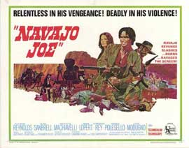 Navajo Joe - 22 x 28 Movie Poster - Half Sheet Style A