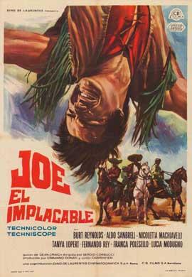 Navajo Joe - 27 x 40 Movie Poster - Italian Style A