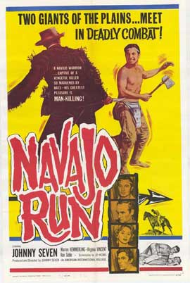Navajo Run - 27 x 40 Movie Poster - Style A