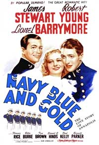 Navy Blue and Gold - 11 x 17 Movie Poster - Style B