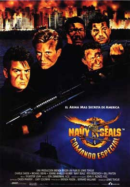 Navy SEALS - 11 x 17 Movie Poster - Spanish Style A