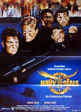 Navy SEALS - 27 x 40 Movie Poster - Danish Style A