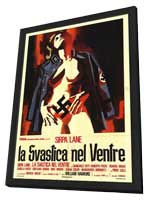 Nazi Love Camp - 11 x 17 Movie Poster - Italian Style A - in Deluxe Wood Frame