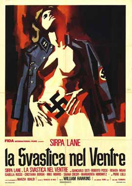 Nazi Love Camp - 11 x 17 Movie Poster - Italian Style A