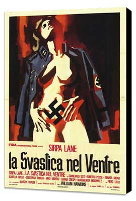 Nazi Love Camp - 27 x 40 Movie Poster - Italian Style A - Museum Wrapped Canvas