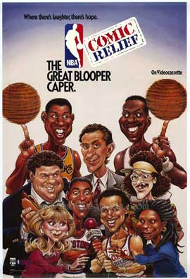 NBA Comic Relief Great Blooper Caper - 11 x 17 Movie Poster - Style A