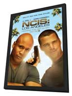 NCIS: Los Angeles - 11 x 17 TV Poster - Style A - in Deluxe Wood Frame