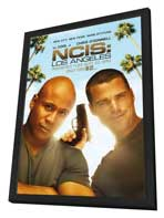 NCIS: Los Angeles - 27 x 40 TV Poster - Style A - in Deluxe Wood Frame