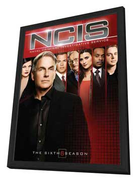 NCIS - 27 x 40 Movie Poster - Style A - in Deluxe Wood Frame