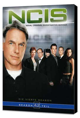 NCIS - 11 x 17 Movie Poster - German Style A - Museum Wrapped Canvas