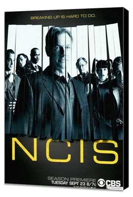 NCIS - 11 x 17 Movie Poster - Style B - Museum Wrapped Canvas