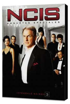 NCIS - 27 x 40 Movie Poster - French Style A - Museum Wrapped Canvas