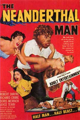 Neanderthal Man - 11 x 17 Movie Poster - Style A