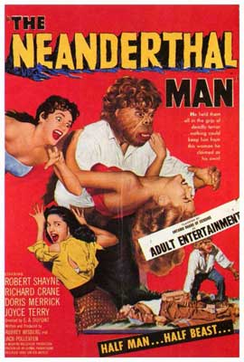 Neanderthal Man - 27 x 40 Movie Poster - Style A
